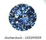 diamond on white background... | Shutterstock . vector #143294509