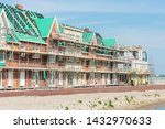 Houses Under Construction In...