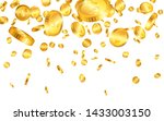 falling from the top a lot of... | Shutterstock .eps vector #1433003150