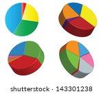 business chart 4 | Shutterstock .eps vector #143301238
