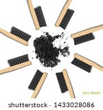 banner bamboo toothbrushes in a ...   Shutterstock .eps vector #1433028086