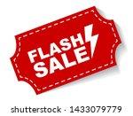 red vector illustration banner... | Shutterstock .eps vector #1433079779