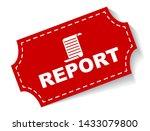 red vector illustration banner... | Shutterstock .eps vector #1433079800
