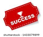 red vector illustration banner... | Shutterstock .eps vector #1433079899