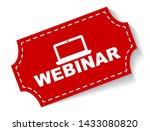 red vector illustration banner... | Shutterstock .eps vector #1433080820