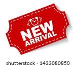red vector illustration banner... | Shutterstock .eps vector #1433080850