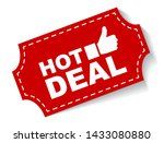 red vector illustration banner... | Shutterstock .eps vector #1433080880