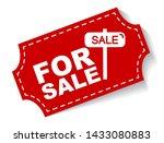 red vector illustration banner... | Shutterstock .eps vector #1433080883