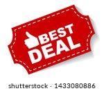 red vector illustration banner... | Shutterstock .eps vector #1433080886