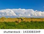A Beautiful Hay Field In...