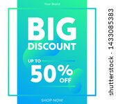 sale promotion banners for... | Shutterstock .eps vector #1433085383