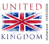 united kigdom england flag... | Shutterstock .eps vector #1433135636