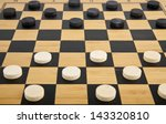 boardgame checkers | Shutterstock . vector #143320810