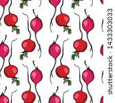 vector seamless pattern with... | Shutterstock .eps vector #1433303033