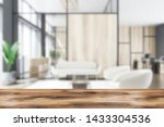 blurred interior of office... | Shutterstock . vector #1433304536