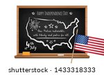 happy independence day. words... | Shutterstock .eps vector #1433318333