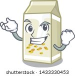successful soy milk isolated... | Shutterstock .eps vector #1433330453
