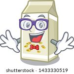 geek soy milk isolated with the ... | Shutterstock .eps vector #1433330519
