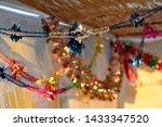 colorful sukkah decoration... | Shutterstock . vector #1433347520