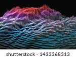 abstract concept of terrain and ...   Shutterstock . vector #1433368313