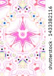 colorful abstract pattern for... | Shutterstock . vector #1433382116