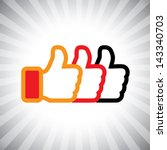 concept vector graphic  social... | Shutterstock .eps vector #143340703