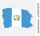 flag of guatemala  from brush...