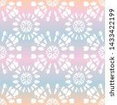 boho surfing white tie dye...   Shutterstock .eps vector #1433422199