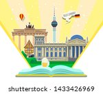 concept of travel to germany or ...   Shutterstock .eps vector #1433426969