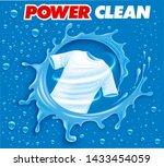 stain remover package design... | Shutterstock . vector #1433454059