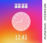 time and clock insta gram...