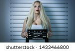 in police station arrested...   Shutterstock . vector #1433466800