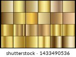 gold chrome metal texture... | Shutterstock .eps vector #1433490536