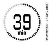 the 39 minutes countdown timer...