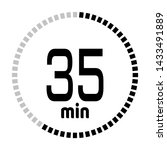 the 35 minutes countdown timer...
