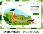 vector illustration   girl...   Shutterstock .eps vector #1433493029