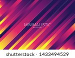 modern line background with... | Shutterstock .eps vector #1433494529