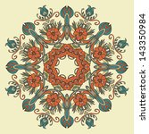 vector ornamental round pattern.... | Shutterstock .eps vector #143350984
