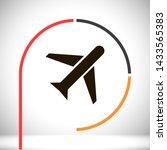 aircraft vector icon 10 eps  ...