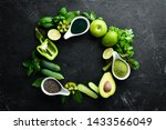 healthy green food clean eating ...