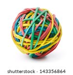 Colorful Rubber Band Ball...
