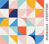 seamless vector geometric...   Shutterstock .eps vector #1433574560