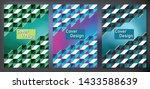 abstract  geometric design... | Shutterstock .eps vector #1433588639