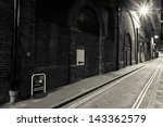 night street in london at sepia ... | Shutterstock . vector #143362579