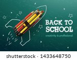 Back To School Creative Banner. ...