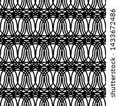 design seamless monochrome... | Shutterstock .eps vector #1433672486
