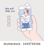 customer service. customer... | Shutterstock .eps vector #1433734106