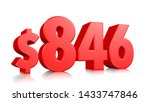 846  eight hundred forty six... | Shutterstock . vector #1433747846