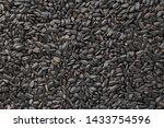 Black Sunflower Seeds. Black...