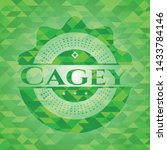 Cagey Realistic Green Mosaic...